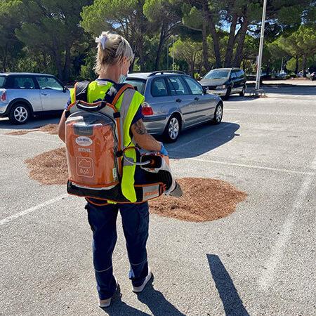 Société propreté parking