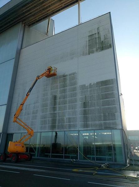 Nettoyage industriel façade