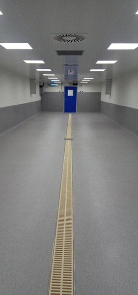 Nettoyage industriel spécifique : Salle blanche