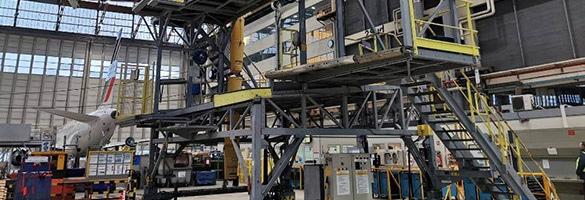 Prestation de nettoyage industriel des docks et hangars techniques aéoport
